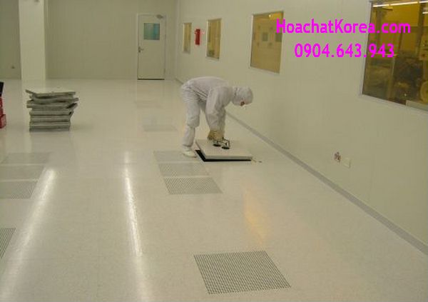 Cleaning antistatic floor in LG Electrolux