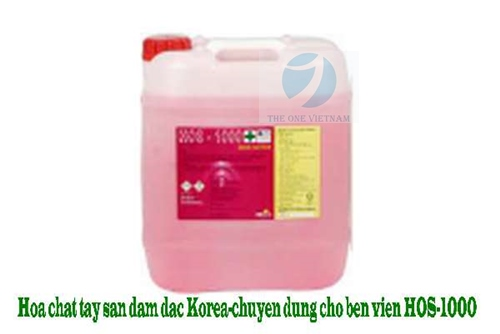 HOS 1000 Concentrated remover for hospital