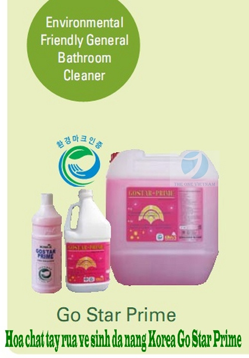 Environmental Friendly General Bathroom Cleaner - GO STAR PRIME