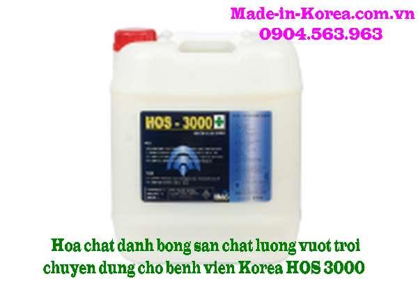 Hóa chất đánh bóng sàn chất lượng vượt trội HOS 3000