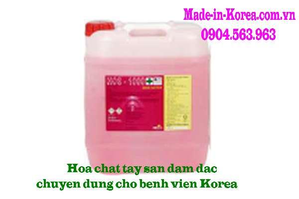 Hóa chất tây sàn đậm đặc chuyên dụng cho bệnh viện HOS 1000